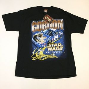 Jeff Gordon Star Wars Episode 1 Shirt NWT Mens XL